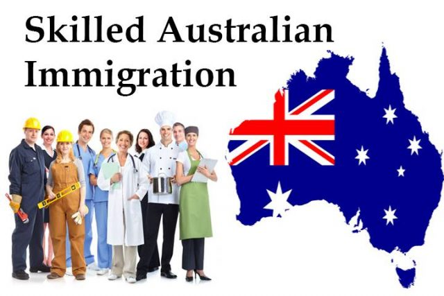 Australia skilled immigration visa subclass 190